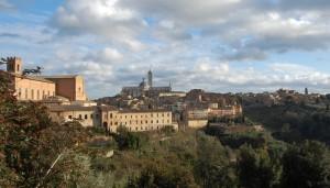Il cielo si apre su Siena..