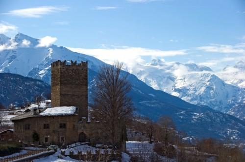 Gressan - La Tour e il suo magnifico panorama.