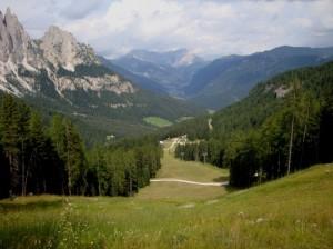 Val Vajolet da Ciampedie, frazione di Vigo di Fassa