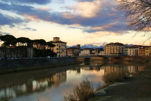 Pisa - Un freddo inverno