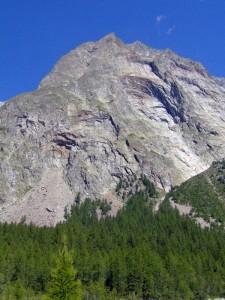 Mt.Rouge de Peutérey dal Chatelet de Miage