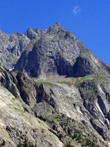 Mt. Noir de Peutérey dal Chatelet de Miage