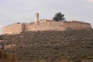 Campello Alto, vista delle mura