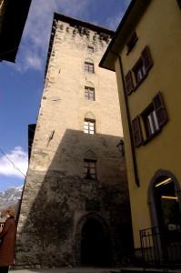 Una torre in centro