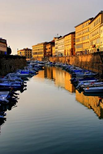 Livorno - Tramonto agli Scali Olandesi