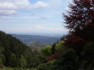 Trivero e…lontano…la Pianura Padana