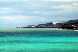 Il litorale di Condofuri Marina