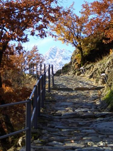Verrès - Passeggiata a Verres