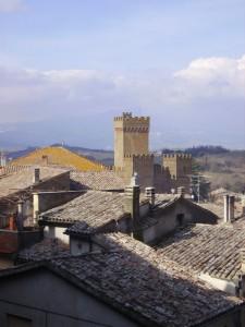 Il castello tra i tetti