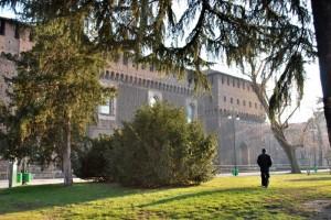 Passeggiata nel parco del Castello Sforzesco