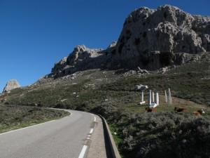 Nei pressi del Monte Albo