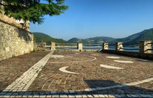 Belvedere sul lago del Turano