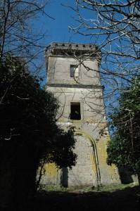 La torre di villa Chigi