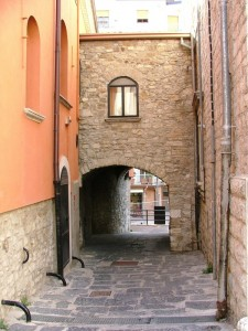 Accesso al centro storico