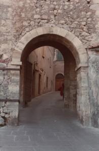Porta d'ingresso al borgo medioevale