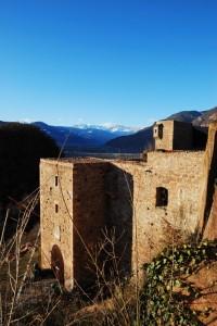 Ultimi raggi sul castello