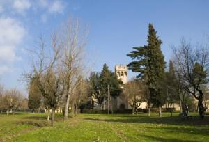 Il parco del Castello dell'Acciaiolo