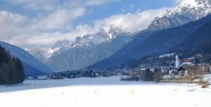 il freddo inverno di Auronzo