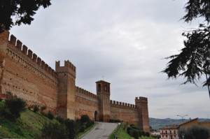 The ancient walls…