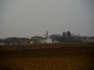 panorama di Solarolo Rainerio