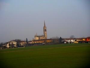 panorama di San Daniele Po