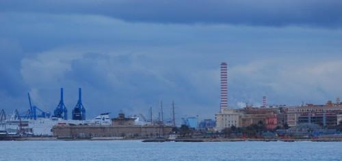 Civitavecchia - Traffico al porto