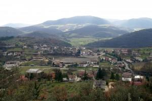 Ancora uno scatto su l'abitato di Trivigliano
