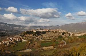 Panorama di Pescorocchiano