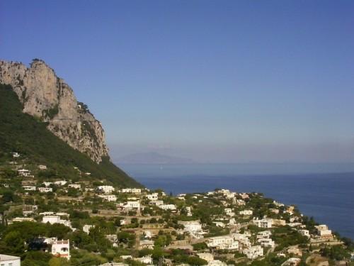 Capri - Il profilo di Capri