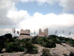 Cagliari - Fortino e resti della torre di sant'Elia