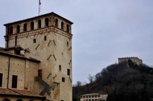 la torre del castello e la rocca