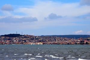 Sant'antioco vista dal mare