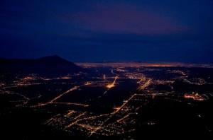 Avigliana…veduta dalla Val Susa