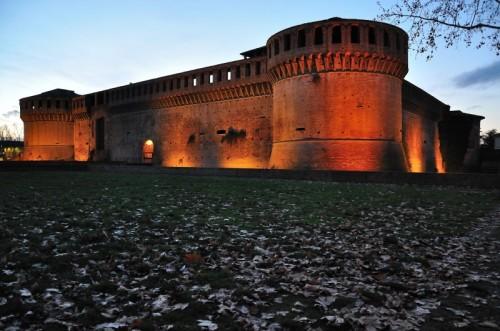 Imola - La Rocca al tramonto