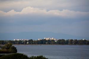 Latina dal Lago di Fogliano