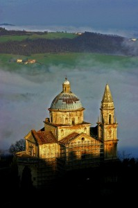 San Biagio e nebbie