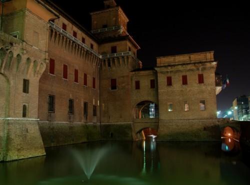 Ferrara - Castello di sera