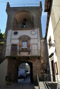 Porta Romana dall'Interno