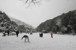 Ma che bella la neve sul Marganai