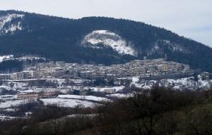 Castell'Azzara panorama