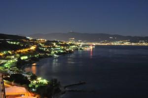 La costa di Villa San Giovanni