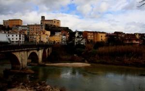 Il fiume Liri a Pontecorvo….