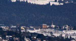 Sfruz, piccolo paese in Val di Non