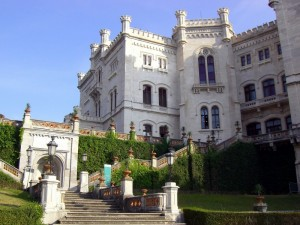 Quattro passi nel parco del castello
