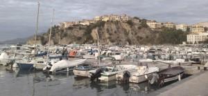 Agropoli alta vista dal porto