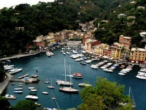 panorama del porticciolo di Portofino