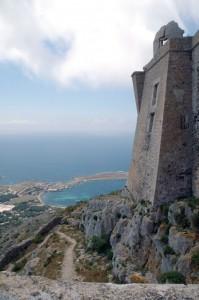 la fortezza e il panorama