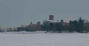 Castello nel bianco… a febbraio