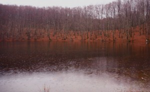 Lago dei due uomini. Chiove, chiove, chiove