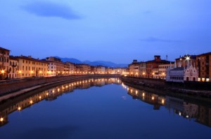 Pisa…al calar della sera……
